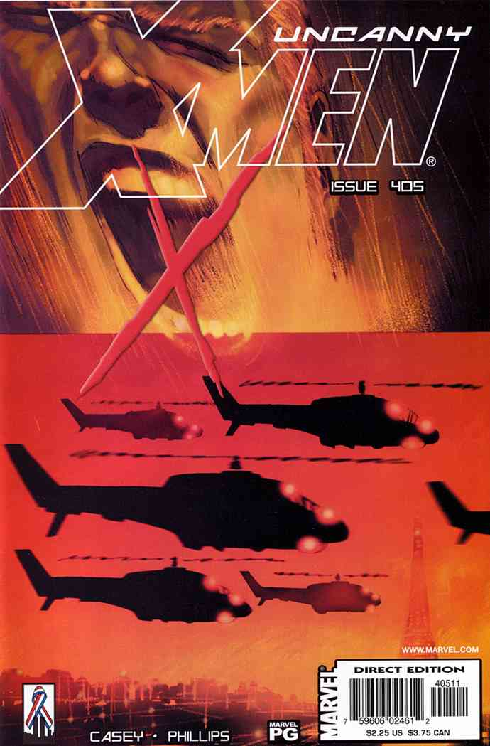 Uncanny X-Men, The comic issue 405