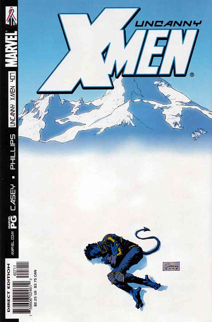 Uncanny X-Men, The comic issue 407