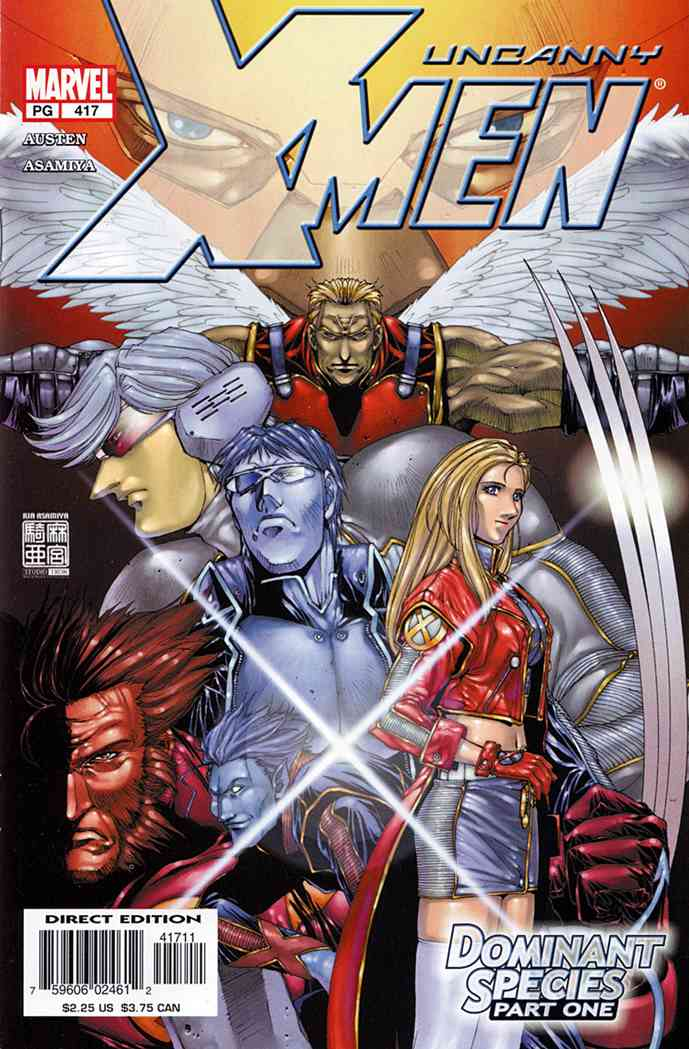 Uncanny X-Men, The comic issue 417