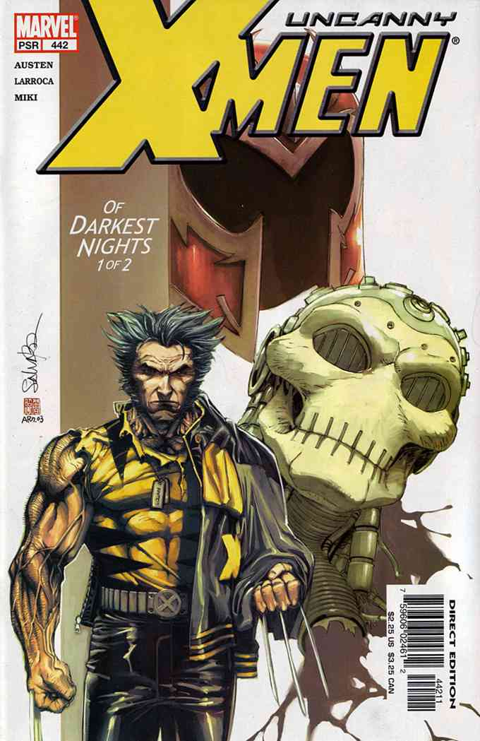 Uncanny X-Men, The comic issue 442