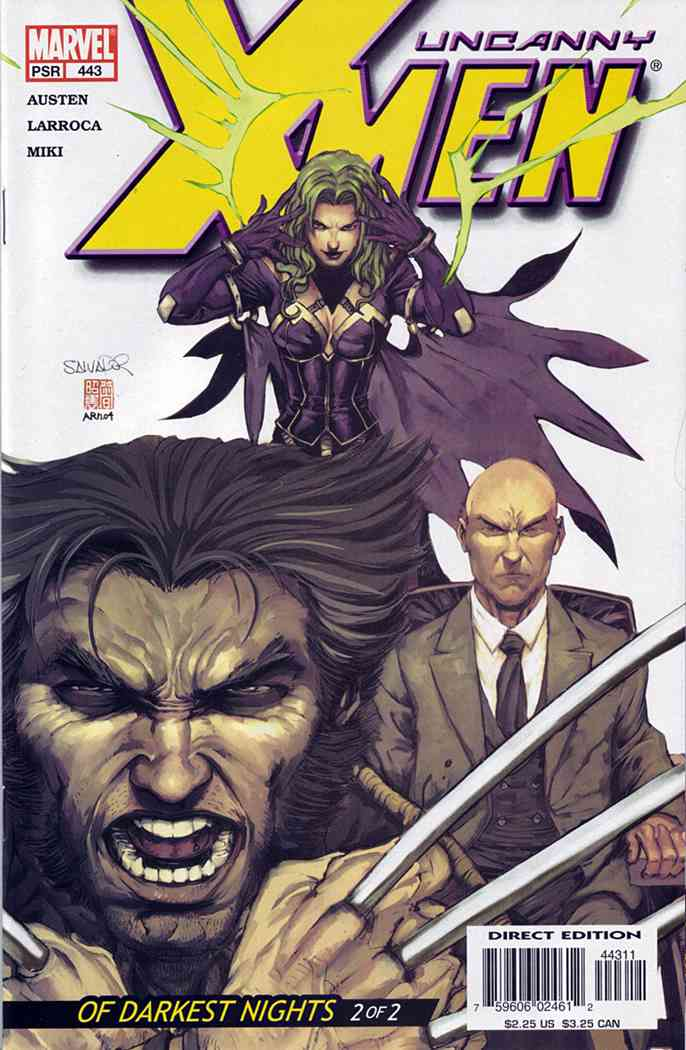 Uncanny X-Men, The comic issue 443