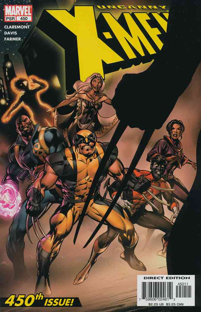 Uncanny X-Men, The comic issue 450