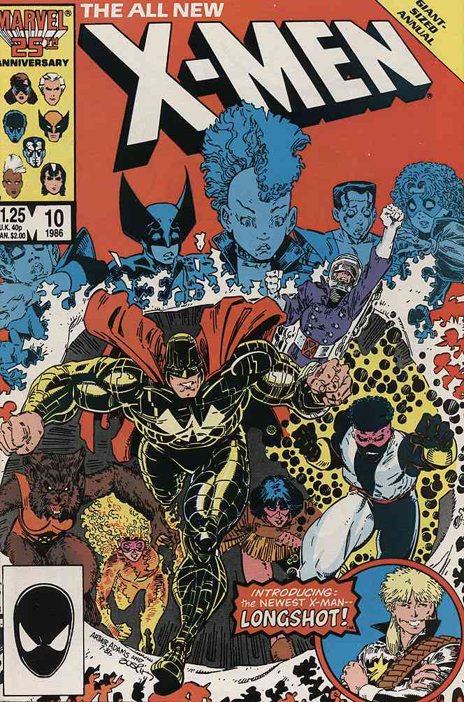 Uncanny X-Men, The comic issue 10