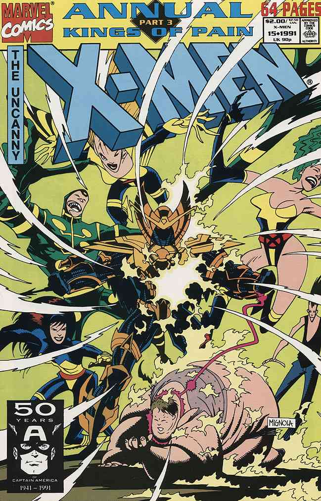 Uncanny X-Men, The comic issue 15