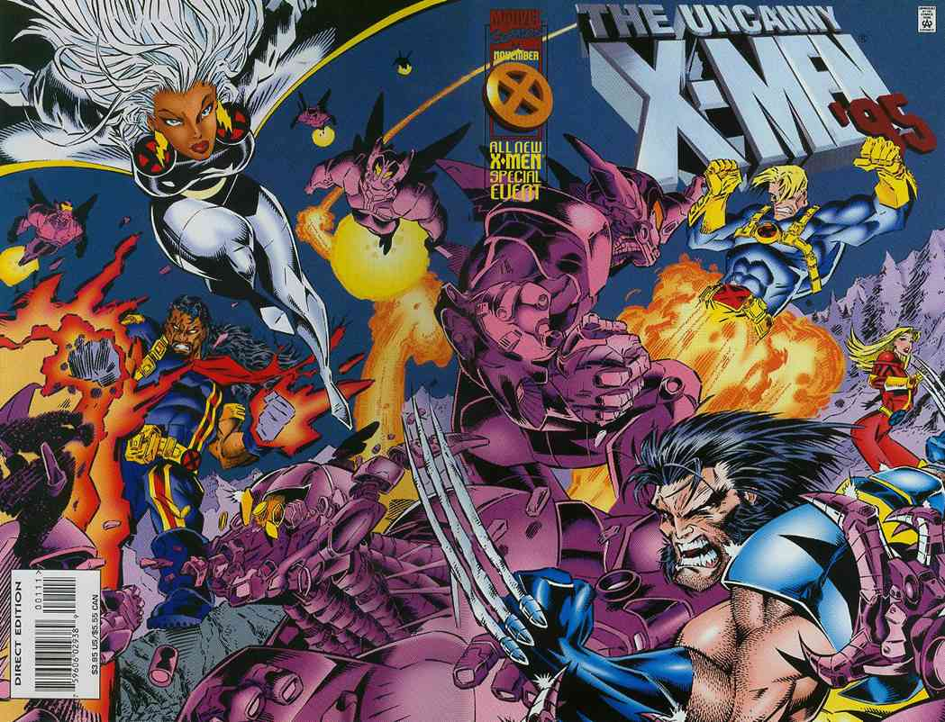 Uncanny X-Men, The comic issue 1995