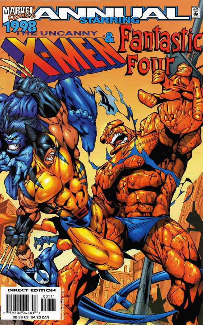 Uncanny X-Men, The comic issue 1998