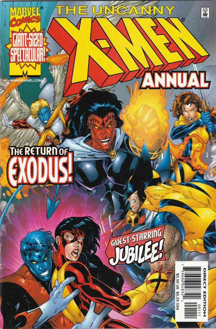 Uncanny X-Men, The comic issue 1999