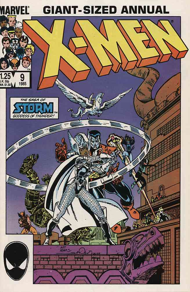 Uncanny X-Men, The comic issue 9