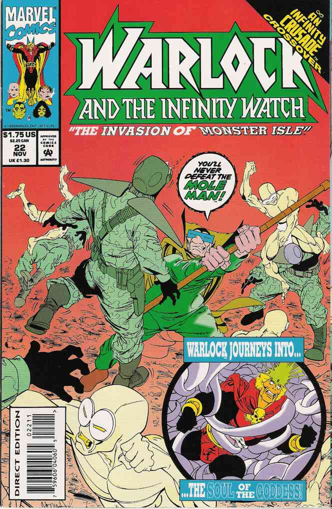 Warlock and the Infinity Watch comic issue 22