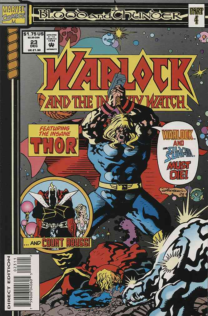 Warlock and the Infinity Watch comic issue 23
