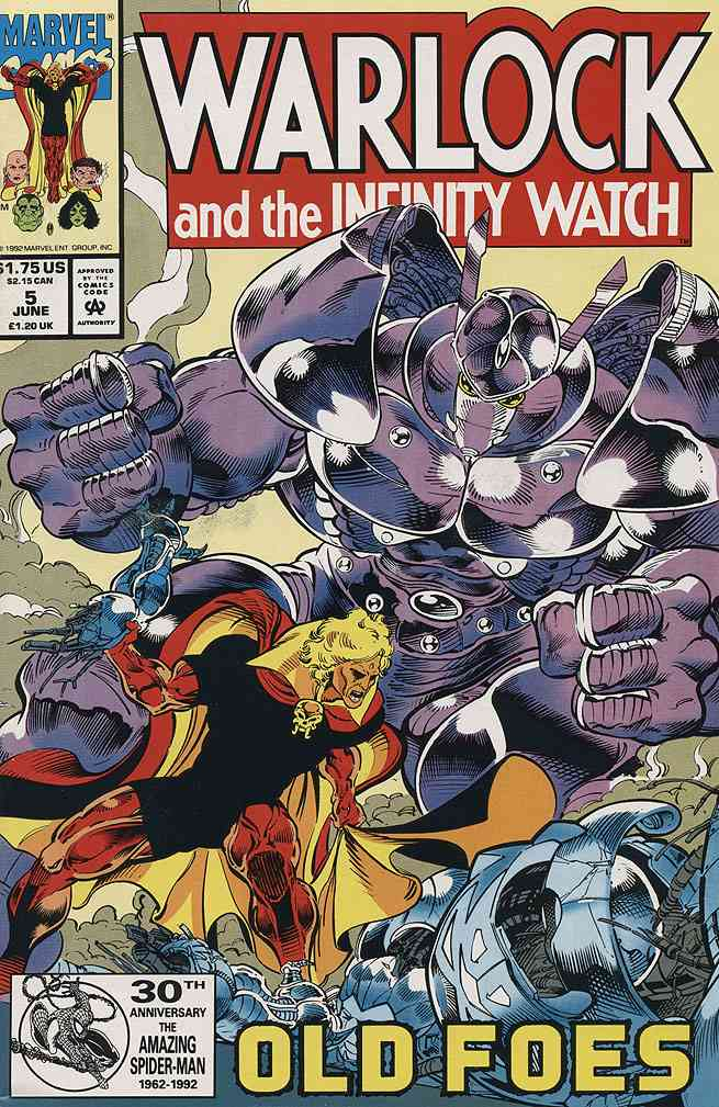 Warlock and the Infinity Watch comic issue 5