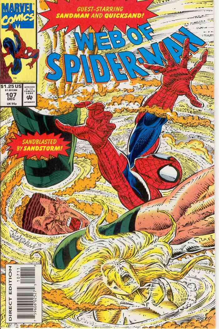 Web of Spider-Man, The comic issue 107