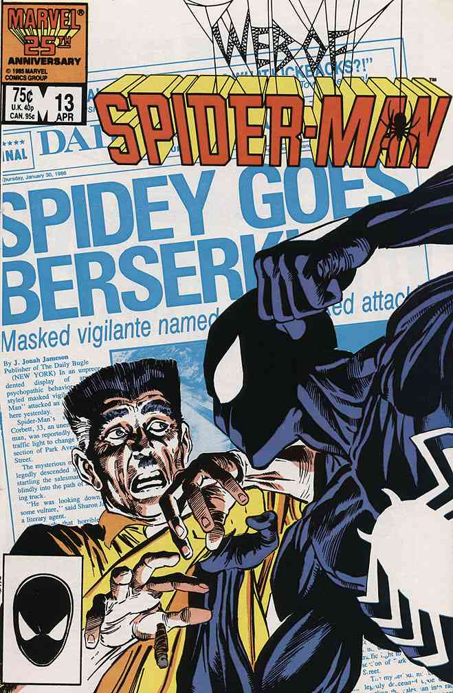 Web of Spider-Man, The comic issue 13
