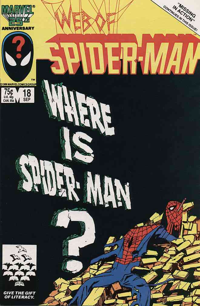Web of Spider-Man, The comic issue 18