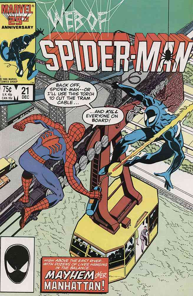 Web of Spider-Man, The comic issue 21