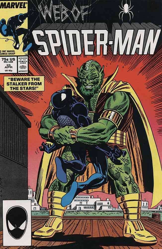 Web of Spider-Man, The comic issue 25