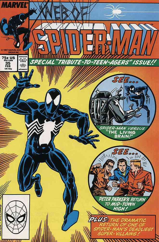 Web of Spider-Man, The comic issue 35