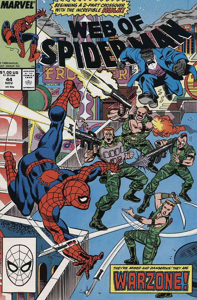 Web of Spider-Man, The comic issue 44