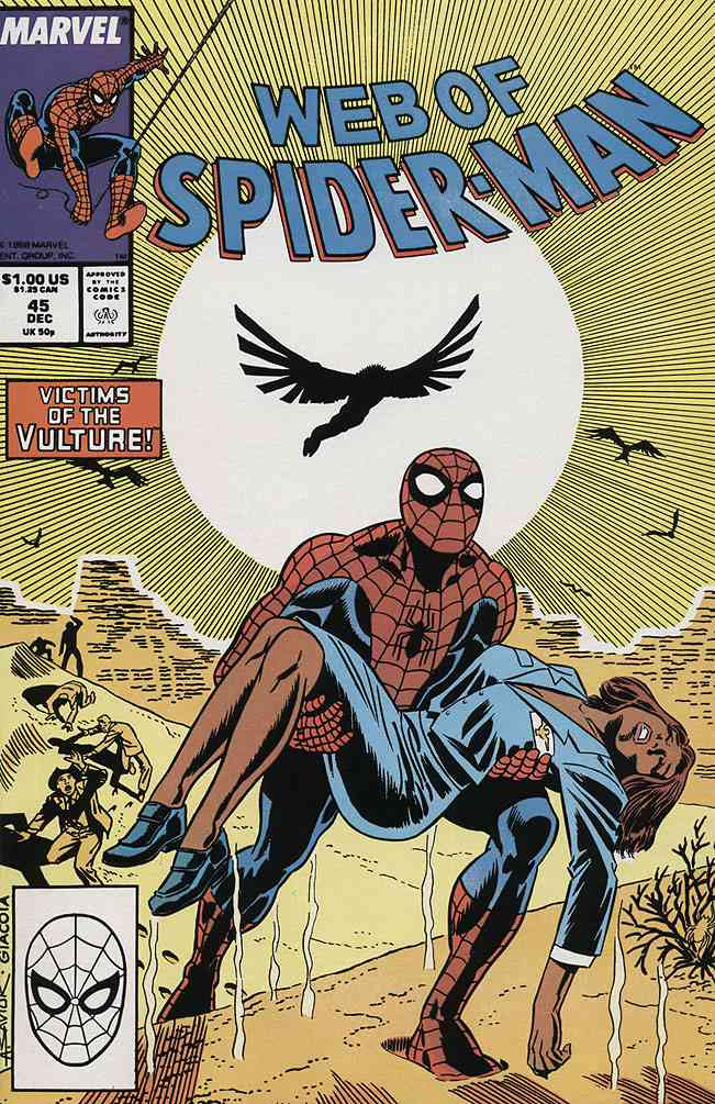 Web of Spider-Man, The comic issue 45