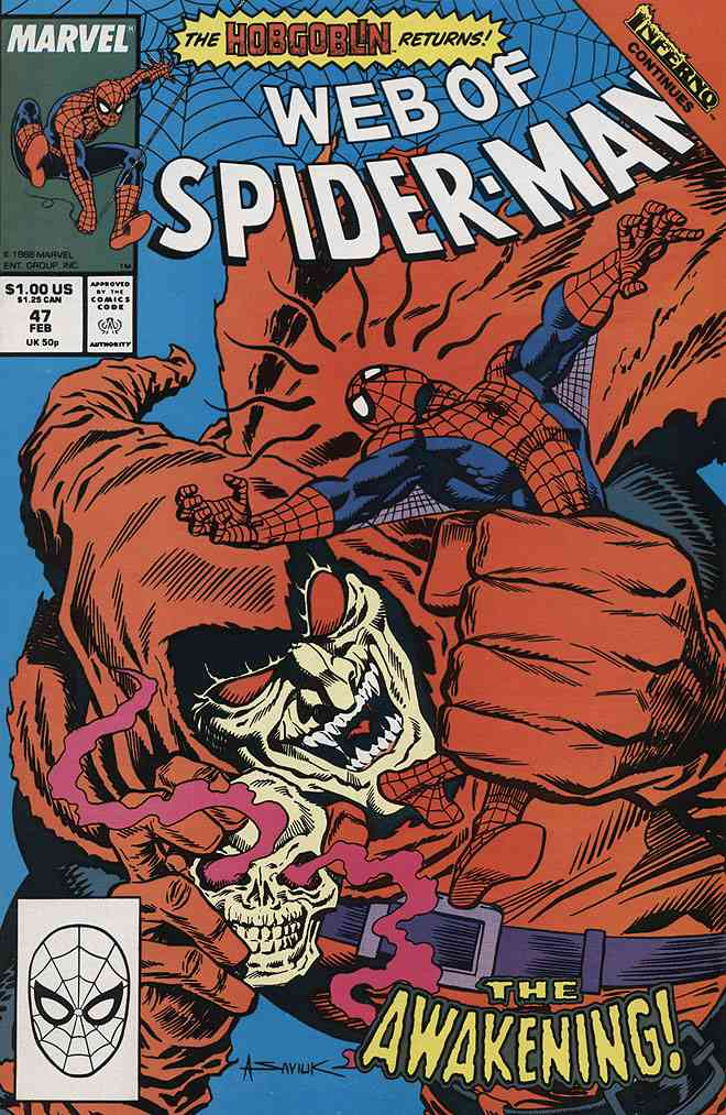 Web of Spider-Man, The comic issue 47