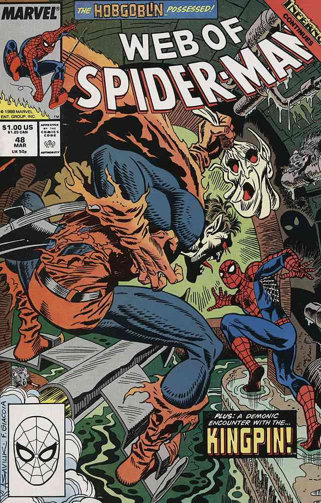 Web of Spider-Man, The comic issue 48