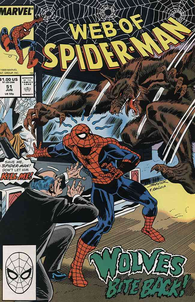 Web of Spider-Man, The comic issue 51