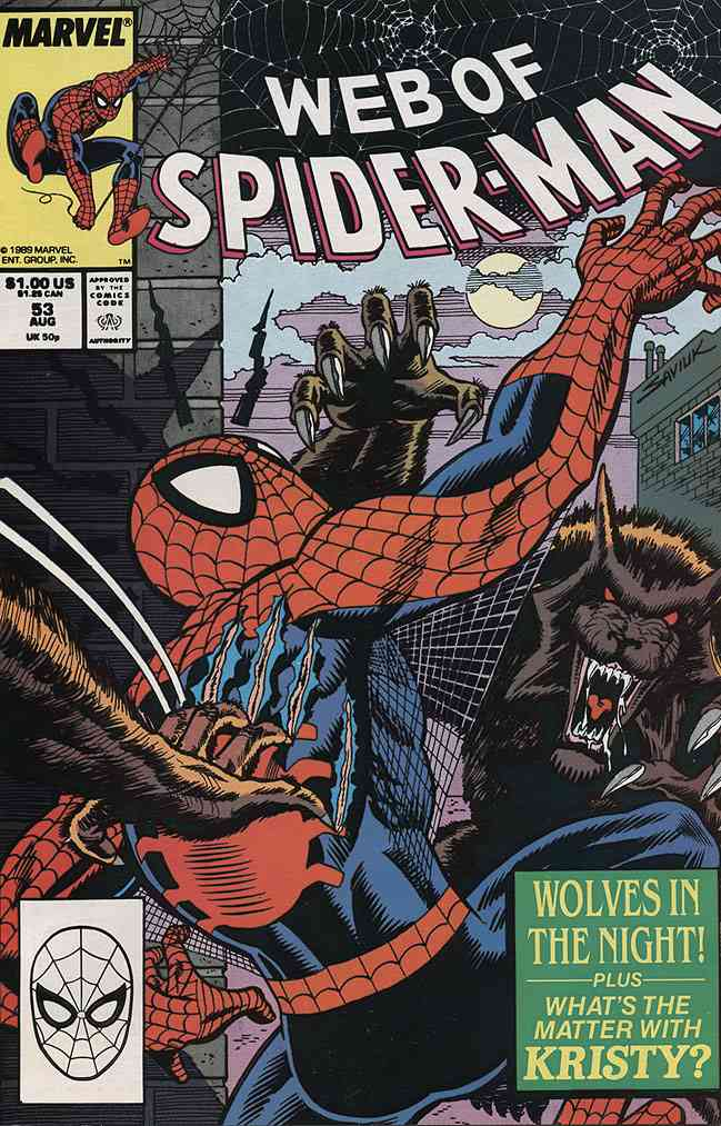 Web of Spider-Man, The comic issue 53