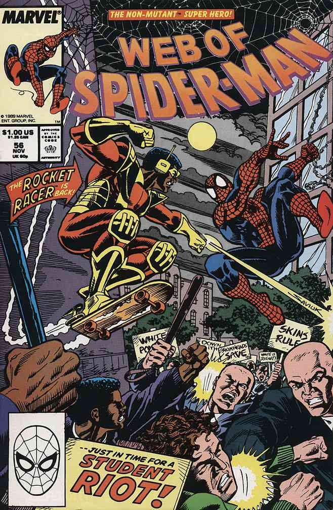 Web of Spider-Man, The comic issue 56