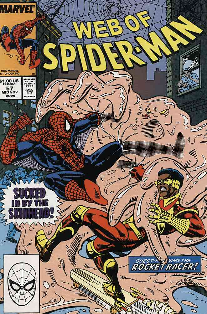 Web of Spider-Man, The comic issue 57