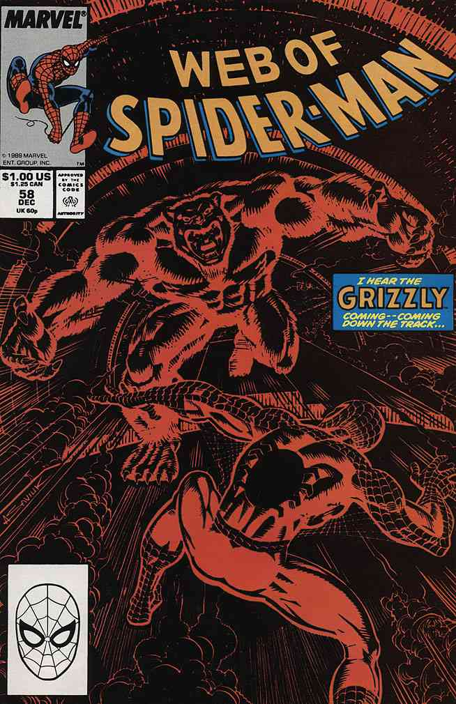 Web of Spider-Man, The comic issue 58