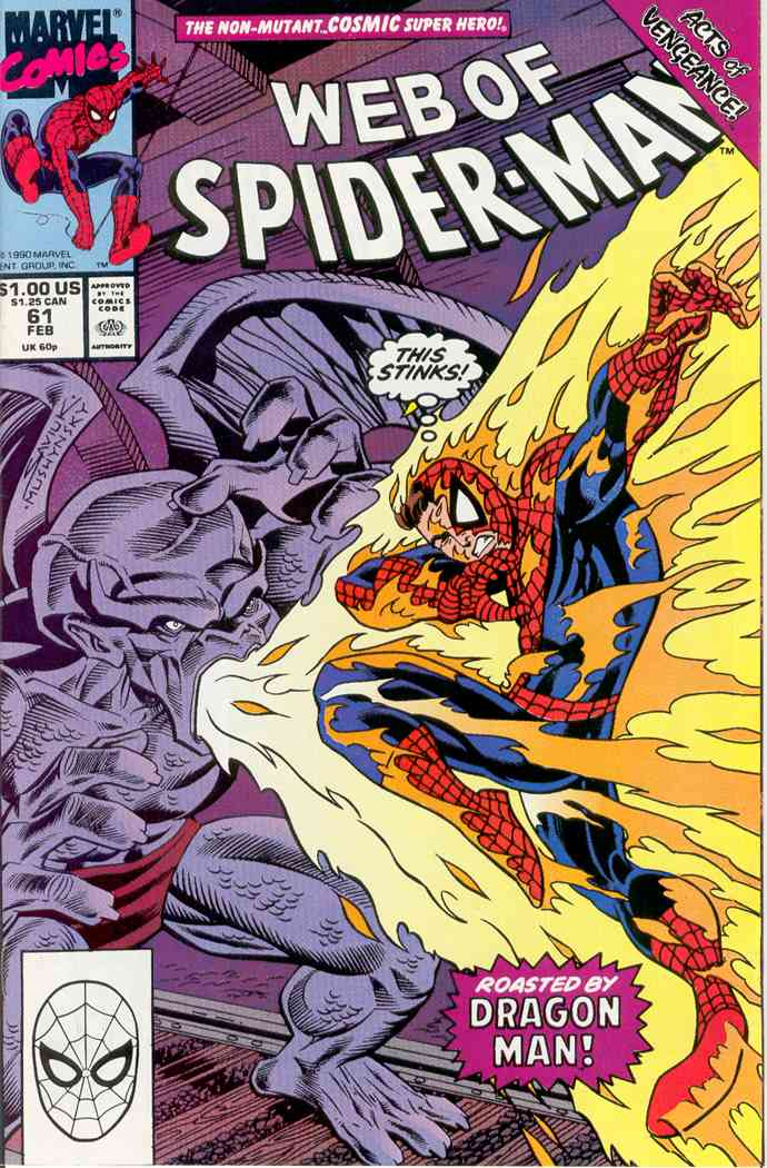 Web of Spider-Man, The comic issue 61