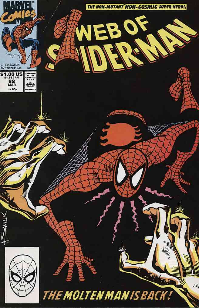 Web of Spider-Man, The comic issue 62