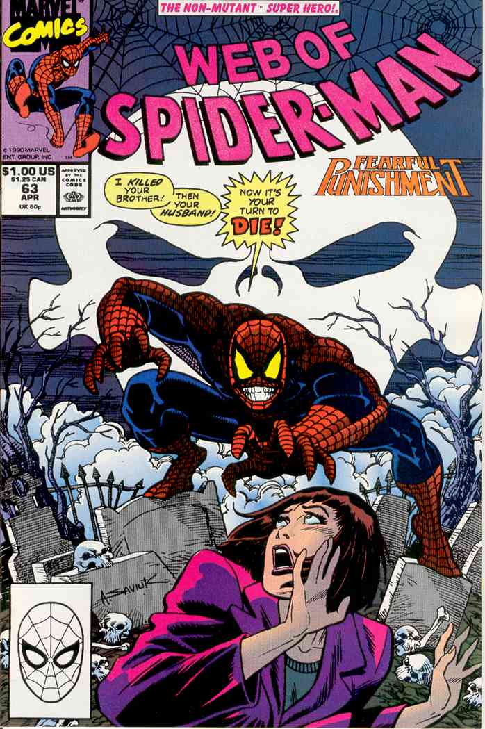 Web of Spider-Man, The comic issue 63