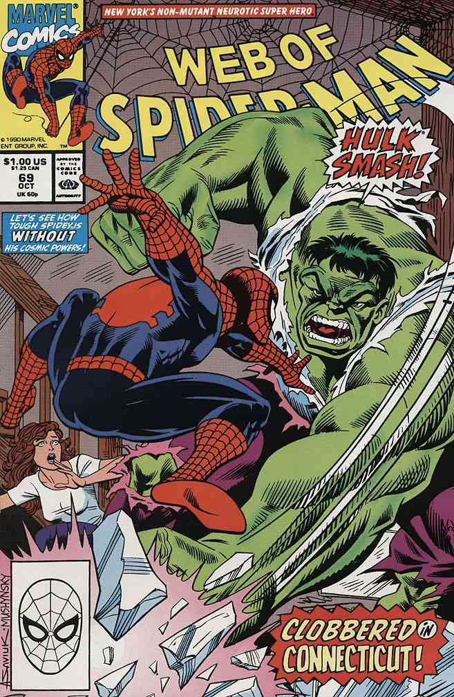 Web of Spider-Man, The comic issue 69