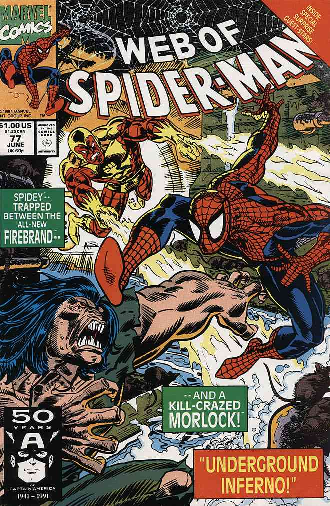 Web of Spider-Man, The comic issue 77