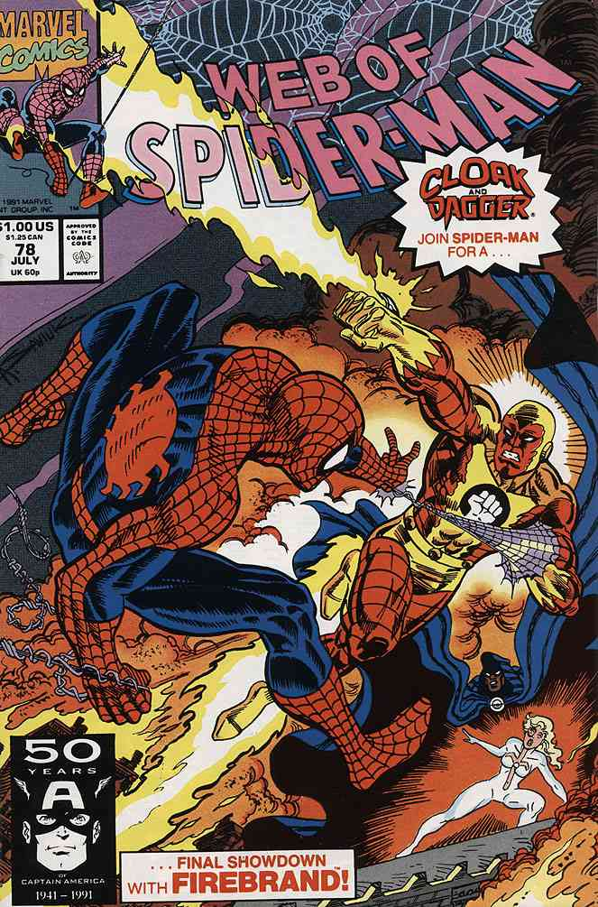 Web of Spider-Man, The comic issue 78