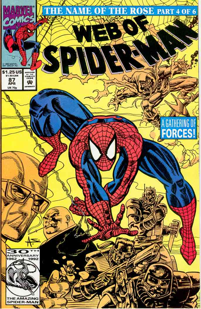 Web of Spider-Man, The comic issue 87