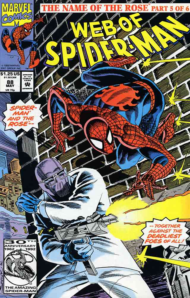 Web of Spider-Man, The comic issue 88