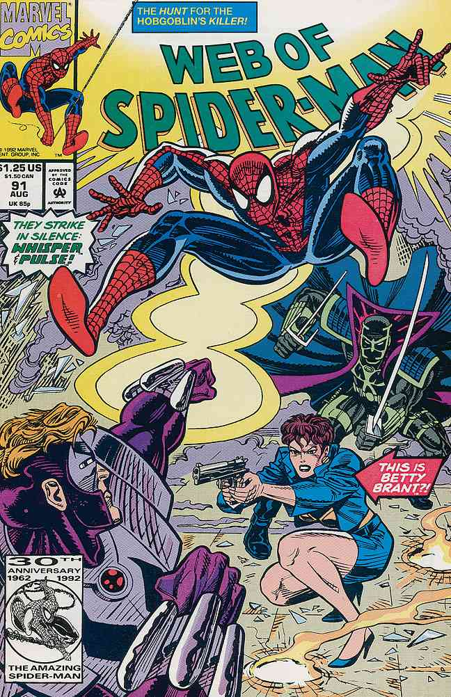 Web of Spider-Man, The comic issue 91