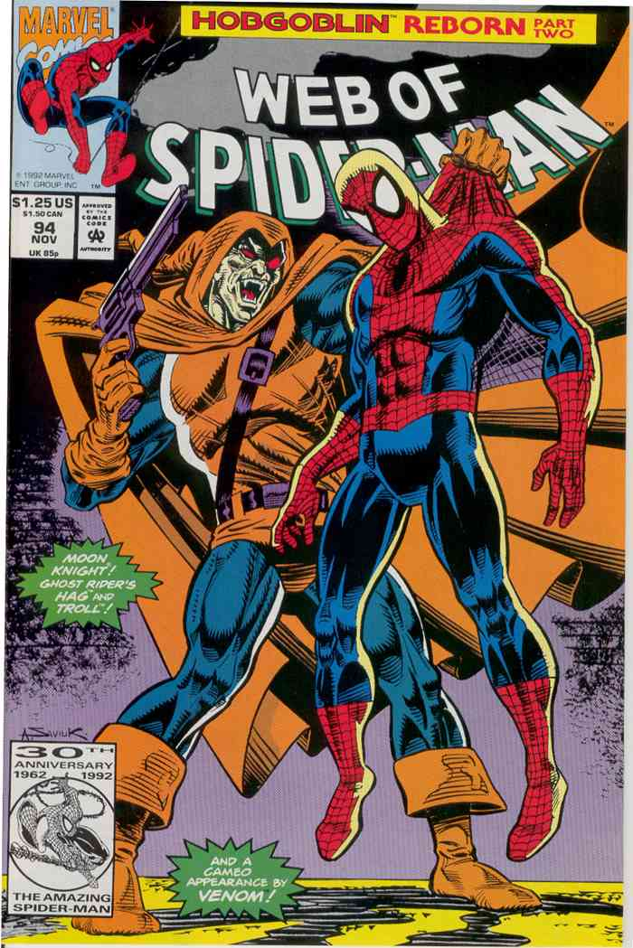 Web of Spider-Man, The comic issue 94