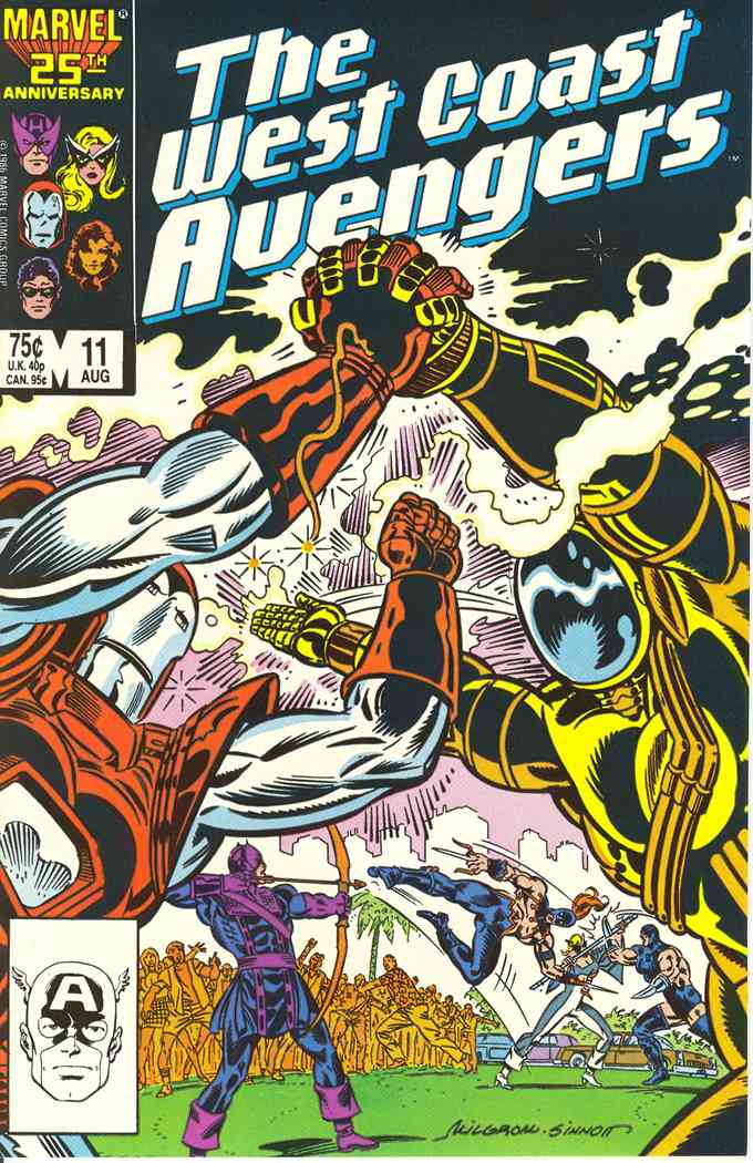 West Coast Avengers comic issue 11