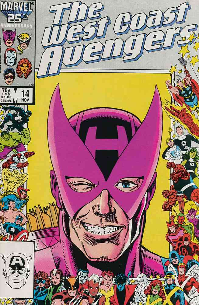 West Coast Avengers comic issue 14