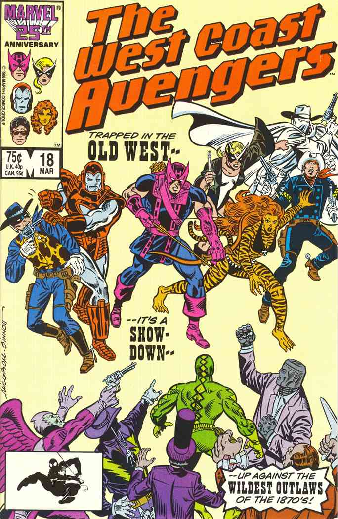 West Coast Avengers comic issue 18