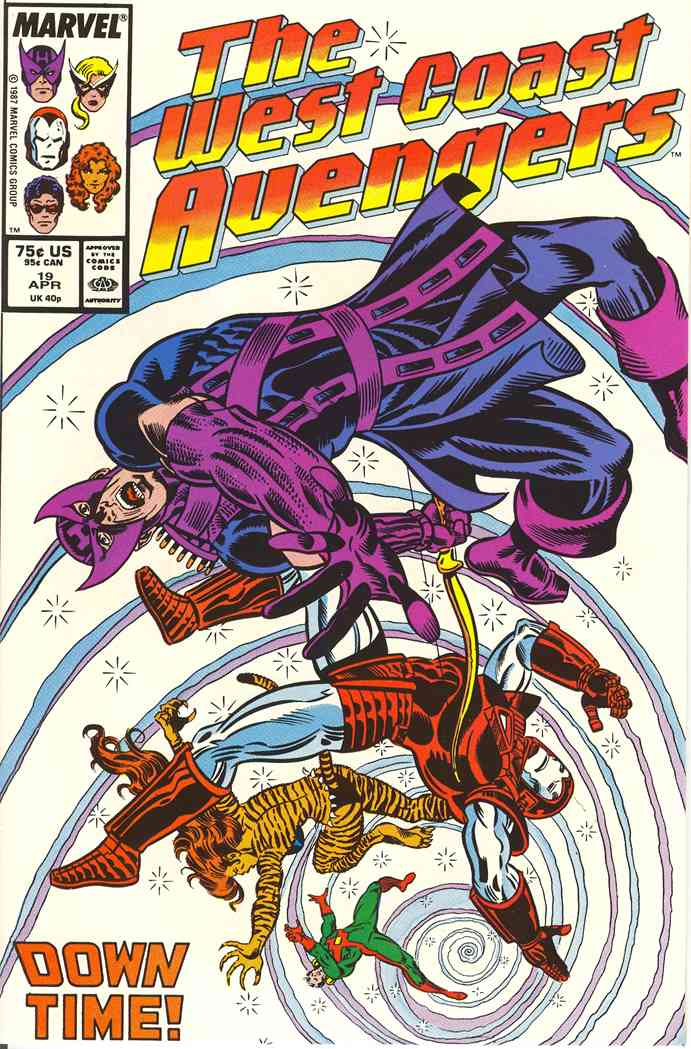 West Coast Avengers comic issue 19