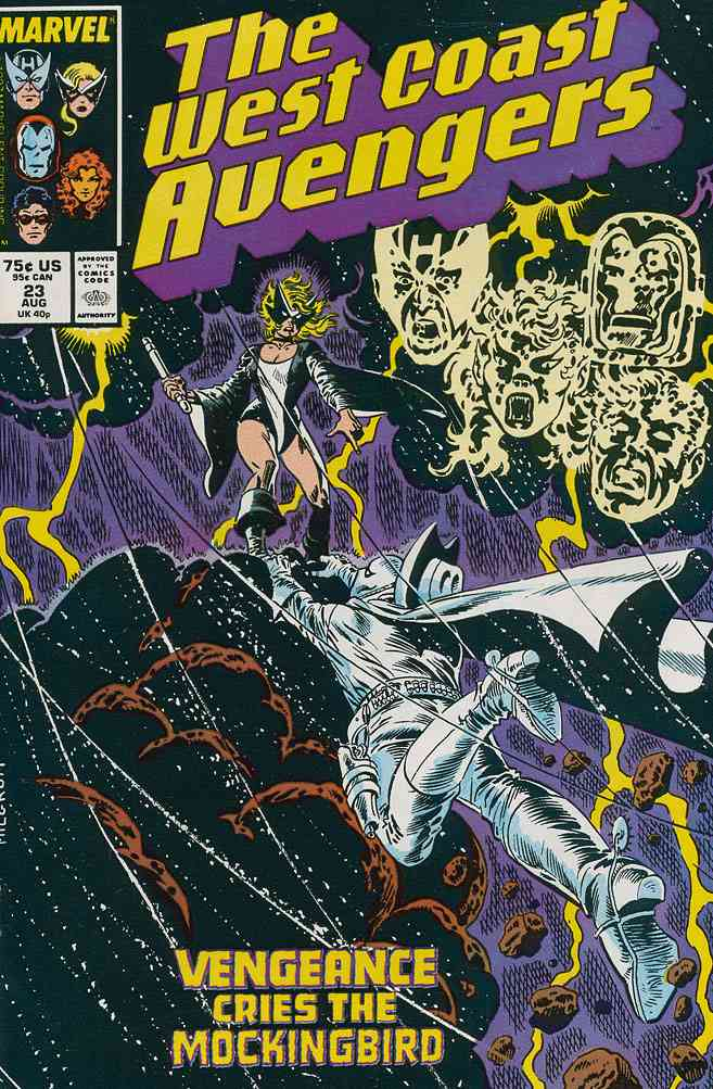 West Coast Avengers comic issue 23