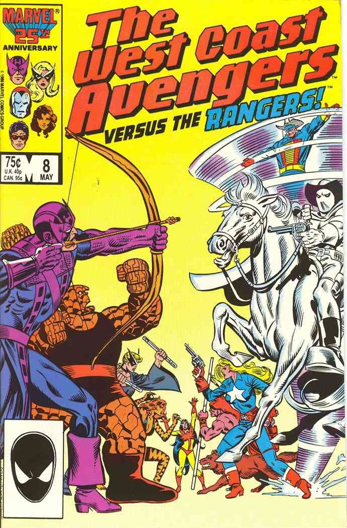 West Coast Avengers comic issue 8