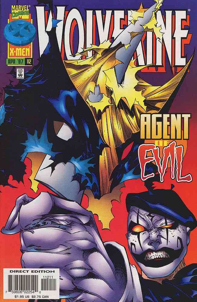Wolverine comic issue 112