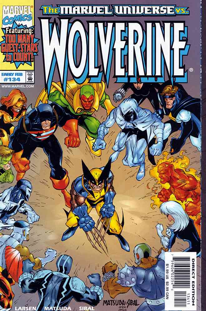 Wolverine comic issue 134