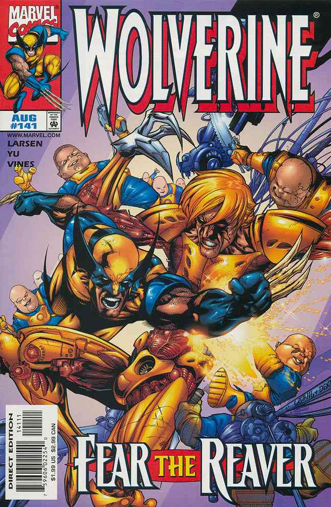 Wolverine comic issue 141