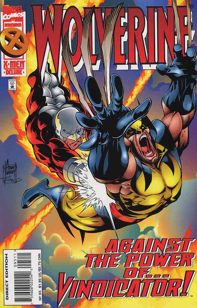Wolverine comic issue 95